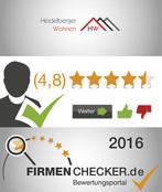 5 Sterne bei Firmenchecker.de