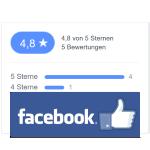 5 Sterne bei Facebook
