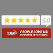 5 Sterne bei Yelp