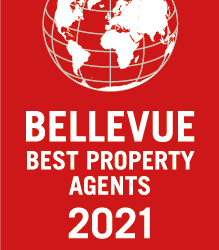 Bellevue Auszeichnung 2021 Best Property Agent Heidelberg 2021