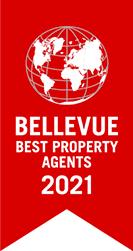 Auszeichnung Bellevue Best Property Agent 2021